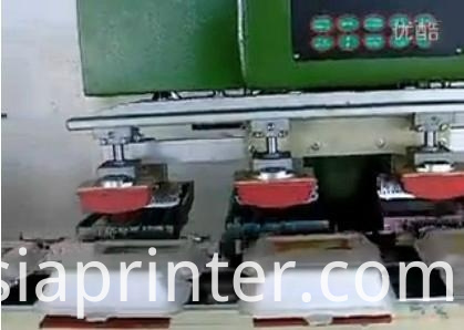Tank 2 color Pad Printing machine