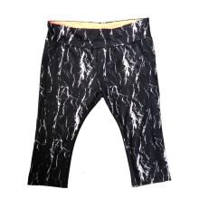 Shorts de mujer de impresión personalizada de corte apretado, pantalones cortos de jogging