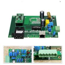 OEM / ODM HRui optique 100M industrielle 2 ports poe commutateur carte PCB / prototype PCBA 48v pour ip caméra