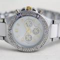 Género de las mujeres y el encanto del deporte Moda tipo de cuarzo reloj de mujer barato
