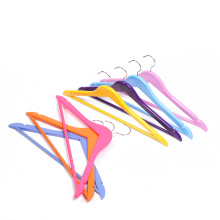 High quality wooden with adjustable clothes hanger for portable coat hanger