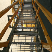Galvanized Stair Treads with perforated metal anti slip stair treads