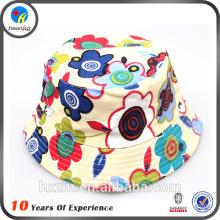 Funny floral kids bucket hat