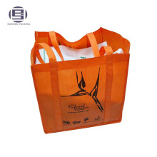 Big capacity non woven shopping packing handle bags for clothes