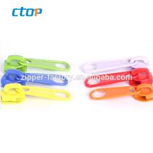 Colorful fashion bag handbag leather zipper puller metal zipper puller