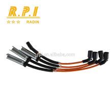 Câble d'allumage haute tension en silicone, FIL DE BOUGIE D'ALLUMAGE POUR DAEWOO, CHEVROELT 96305387