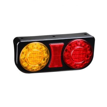 Impermeable LED Semi Truck Combination Tail Lamps