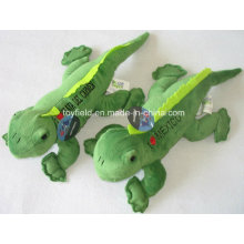 Brinquedo macio crianças bebê lagarto pelúcia brinquedo de pelúcia