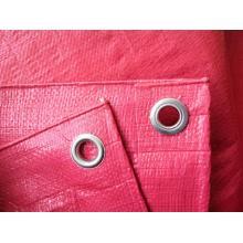 RED HDPE/PE Tarpaulin Plastic Sheets