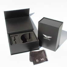 Luxury Magnetic Flap box Elektronik Carboard paket Matte