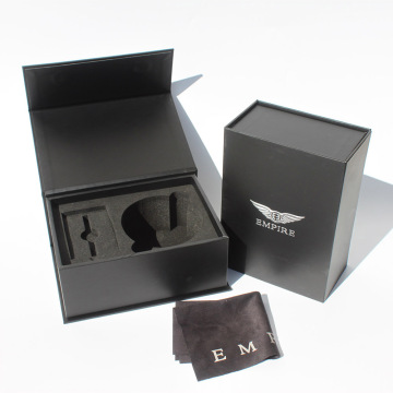 Paket Luxury Magnetic Flap box Carboard Elektronik Paket Matte