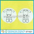 manufacture paper sticker baby cloth sticker label