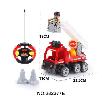 4CH Assemble RC Fire Car Toy Wholesale