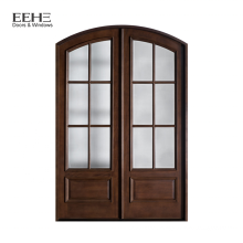 Fire Rated Interior Wood BedroomDoor with Panel Inserts