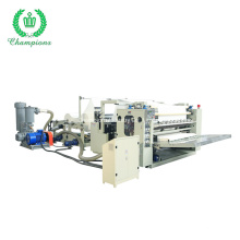 High Quality Box Drawing Facial Tissue Towel Paper Making Machine