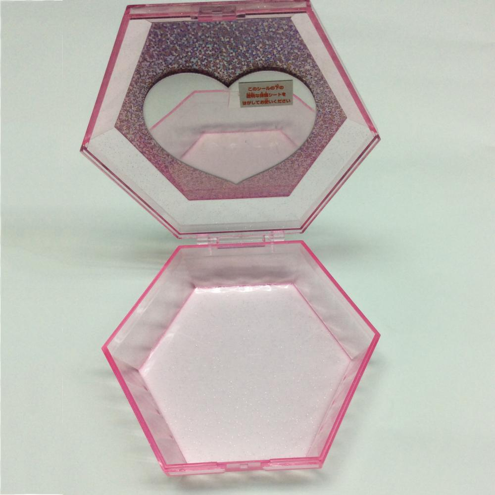 Hexagon display box
