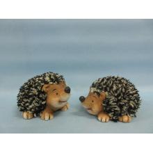 Hedgehog Shape Ceramic Crafts (LOE2532-C10)