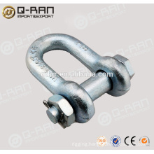 Hardware Hot Sale US Type Screw Pin Anchor D Shackles