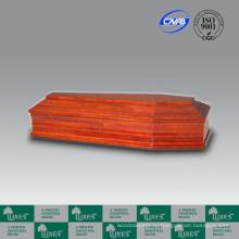Популярный немецкий стиль дешевые деревянные похорон гроб Casket_China шкатулка производств