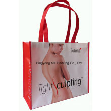 Custom Promotion Shopping BOPP Laminated Non Woven Tote Bags
