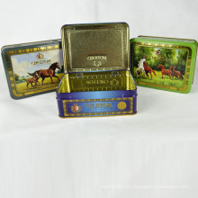 Caja de embalaje de té personalizado, caja de regalo de té, caja de estaño de té hecho en China