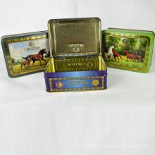 Индивидуальная коробка для упаковки чая, подарочная коробка для чая, коробка для олова для чая, сделанная в Китае