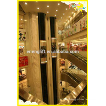 Ascenseur panoramique à faible coût et intérieur