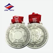 Medalha de liga de zinco requintada pela partida nacional