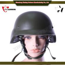 Tamanho médio exterior pe material capacete balístico