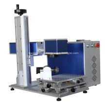 Máquina de marcação a laser de fibra de alumínio para panelas de fivela