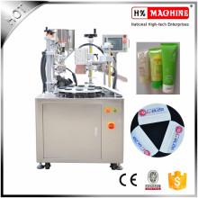 Crème médicale, crème pour les mains, petite machine de cachetage remplissante automatique de lotion cosmétique pour l'emballage en plastique