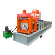 2016 new type glazed steel plc control metal roofing ridge tile roll forming machine for africa