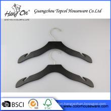 non-slip wooden clothes hanger