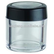 2015 new cosmetic jar with eye jar