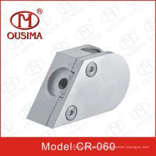 Abrazadera inoxidable especial del cristal de Steell para el tubo de la barandilla (CR-060)