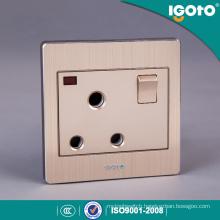 British Standard 15A Socket 3 Round Hole 15AMP Switched Socket
