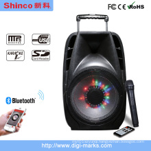 Portable Speaker with Battery Bluetooth Microphone Karaoke Speaker