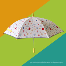 Safe Hand-Protected Design Cartoon Children Umbrella