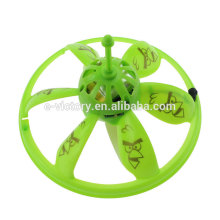 Infrared hand induction RC flying UFO with LED colorful light