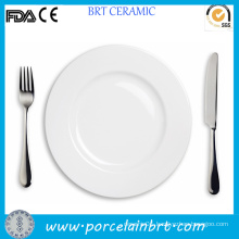 High Quality Restaurant White Steak Plate