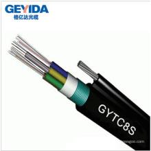 Cable de fibra óptica al aire libre de 48 núcleos con antena