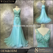 Professional China factory fashionable front short long back chiffon evening party gowns
