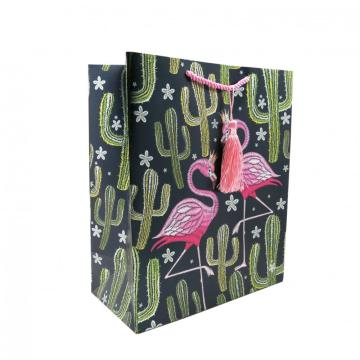 FLAMINGO PAPER  GIFTBAG1-0
