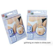 Boîte en plastique d'impression offset personnalisée pour sous-vêtements (emballage de vêtements)