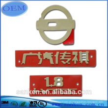 Etiqueta personalizada do logotipo do carro Etiqueta adesivo auto adesivo
