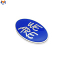 High-End-Emaille kleines Metall-Logo Brauch