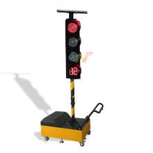 uso de reparación de carreteras móvil semáforo temporal