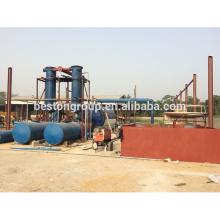 Ahorro de energía neumático de la pirólisis del aceite combustible de la planta de combustible para la máquina de combustible sin contaminación