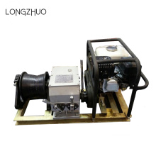 5t Single Drum Engine Powered Winch for Hoisting