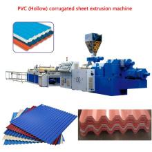 PVC (Hollow) Corrugated Sheet Machine